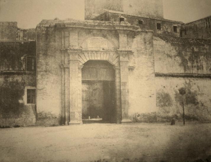 Edouard Delessert, Cagliari, Porta Cristina (1854)