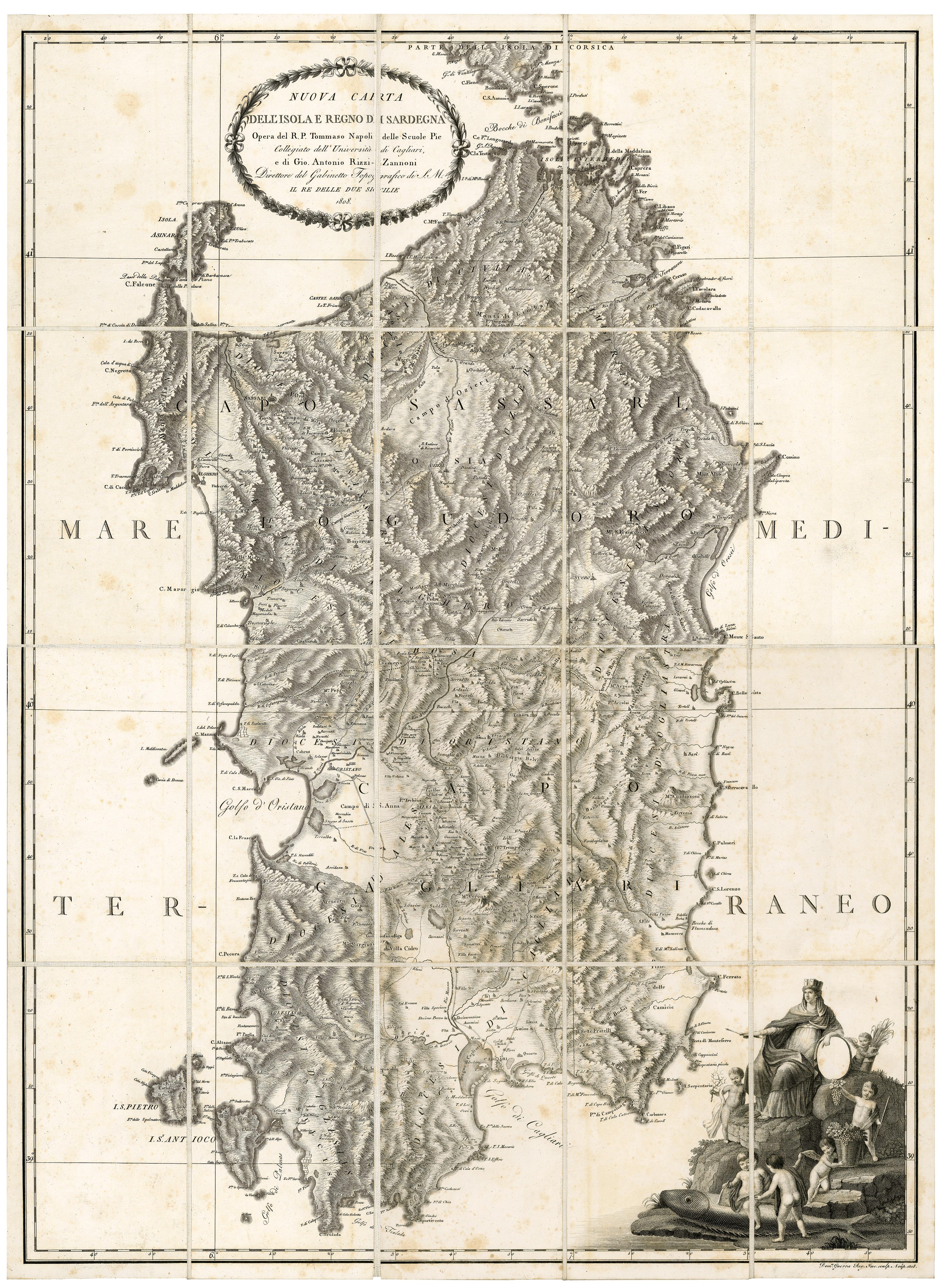 Cartina - Alta